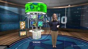 Виртуальная студия EasySet3D испанской компании Brainstorm Multimedia