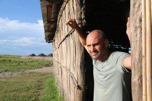 Ed in Leoyelo, a village on the Zambezi.