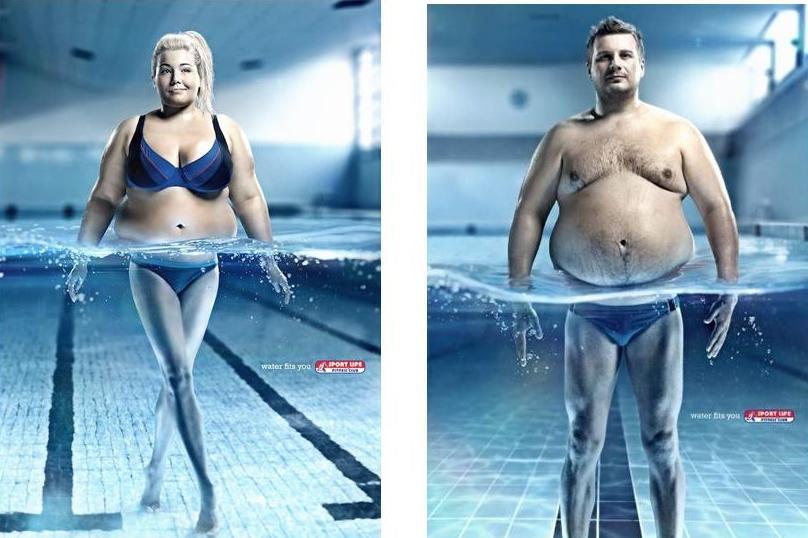 Плавание как способ для похудения