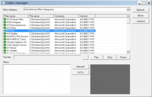 codec manager